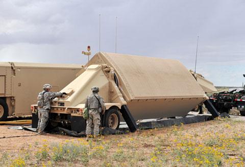 米軍Xバンドレーダー