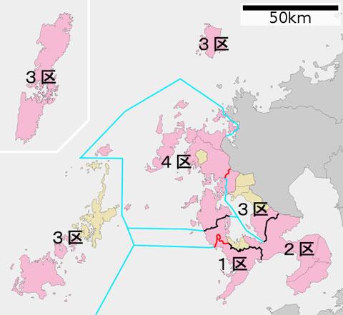衆議院選挙長崎選挙区