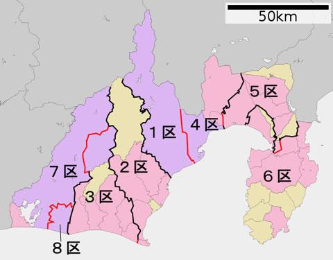 衆議院選挙静岡選挙区