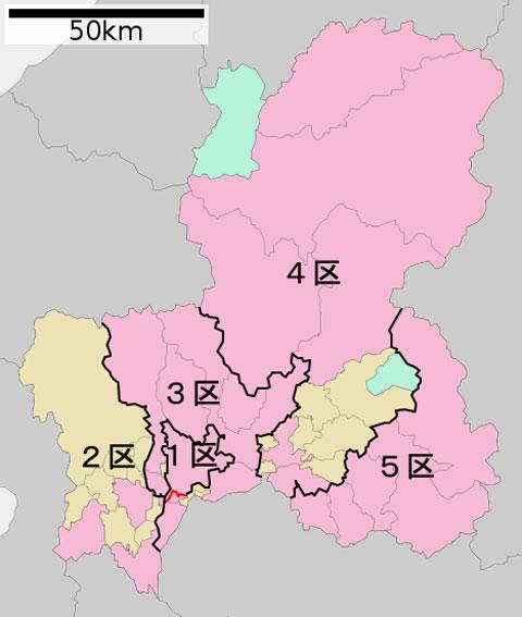 衆議院選挙岐阜選挙区