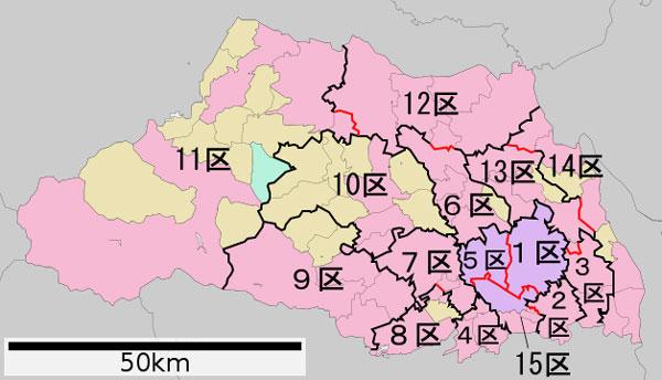 埼玉県の選挙区