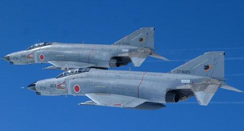 空自F-4戦闘機