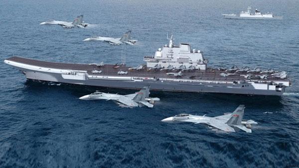 中国海軍空母