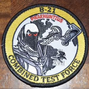 B-21のパッチ