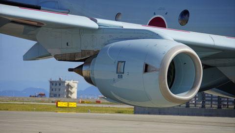 P-1のF-7エンジン