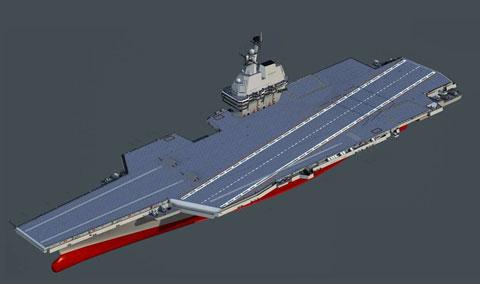 中国海軍空母002型