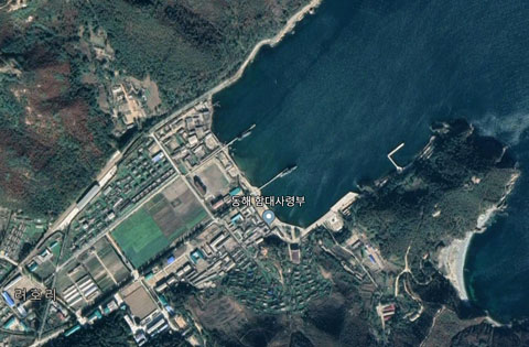 北朝鮮海軍東海艦隊司令部