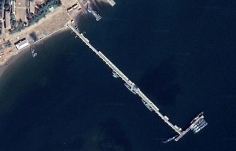 北朝鮮海軍沙串基地