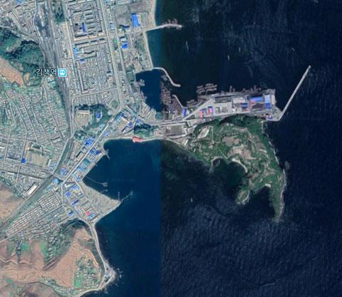 北朝鮮海軍金策基地