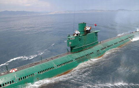 北朝鮮ロメオ級潜水艦
