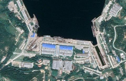 北朝鮮海軍馬養島基地