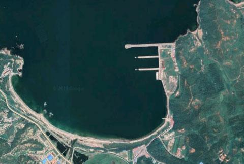 北朝鮮海軍長箭基地