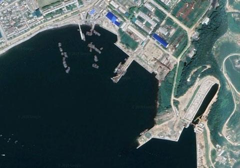 北朝鮮海軍新浦基地
