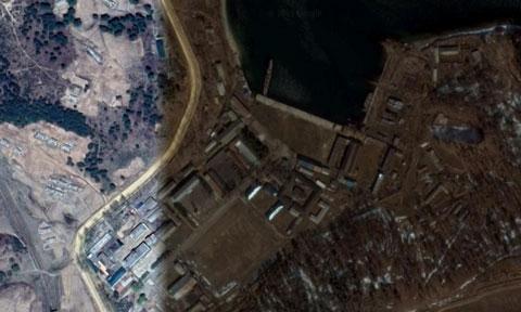 北朝鮮海軍羅津基地