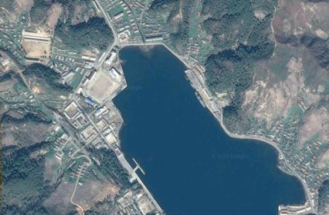 北朝鮮海軍遮湖基地