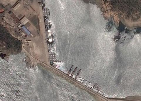 北朝鮮海軍椒島基地