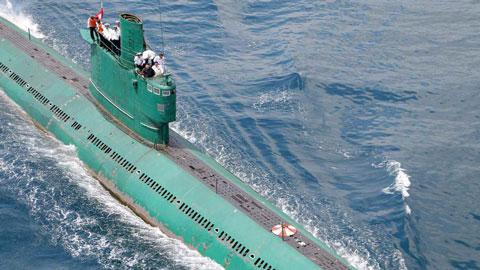 北朝鮮のロメオクラスの潜水艦