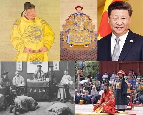 朝鮮の中国への冊封体制