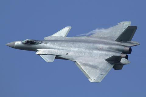 中国軍のJ-20戦闘機